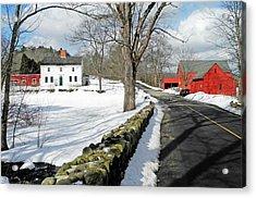Whittier Birthplace Acrylic Print