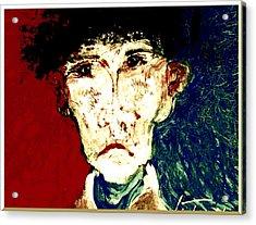 Who Am I   1b Acrylic Print by Teodoro De La Santa