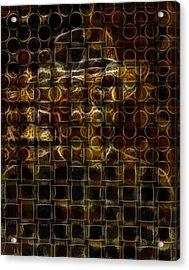 Who Am I  Acrylic Print by Teodoro De La Santa