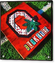 Who Are You Rooting For Tonight?  #osu Acrylic Print