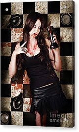 Who Done It Murder-mystery Acrylic Print by Jorgo Photography - Wall Art Gallery