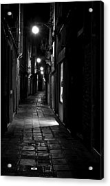 Who Goes There Acrylic Print by Marion Galt