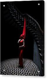Who Killed Laura Palmer Acrylic Print by Art of Invi