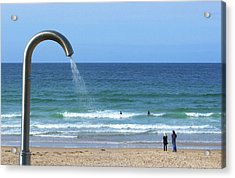 Who Left The Tap On Acrylic Print