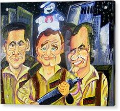 Who You Gonna Call Acrylic Print by Jacob Logan