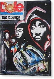Whos Got Juice Acrylic Print