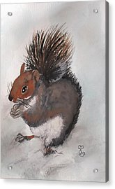 Who's Had Me Nuts Acrylic Print