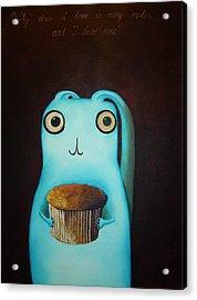 Why Does It Have So Many Moles And I Have None Acrylic Print by Anastassia Neislotova