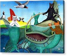 Wicked Kitty's Catfish Acrylic Print