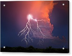 Wicked Serenity Point Acrylic Print by Betsy Knapp