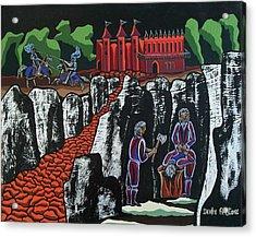 Wicked Times Acrylic Print by Deidre Firestone