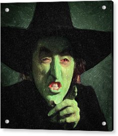 Wicked Witch Of The East Acrylic Print