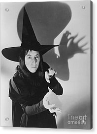Wicked Witch Of The West Acrylic Print by Granger