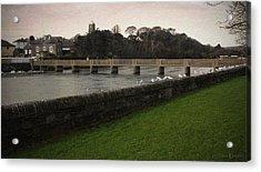 Wicklow Footbridge Acrylic Print