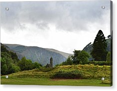 Acrylic Print featuring the photograph Wicklow Mountains by Terence Davis