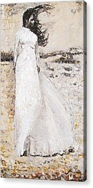 Acrylic Print featuring the painting Out On The Wiley Windy Moors by Jarko Aka Lui Grande