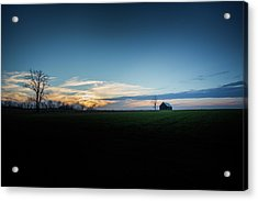 Acrylic Print featuring the photograph Wide Open Spaces by Shane Holsclaw