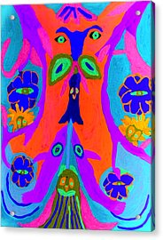 Widgets Acrylic Print by Betty  Roberts