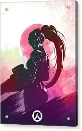 Widowmaker Overwatch Acrylic Print