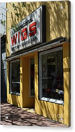 Acrylic Print featuring the photograph Wigs by Skip Willits