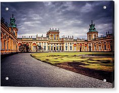 Wilanow Palace In Warsaw  Acrylic Print