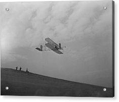 Wilbur Wright Pilots A Glider Acrylic Print
