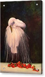 Wild And Sweet 1 Acrylic Print by Valerie Aune