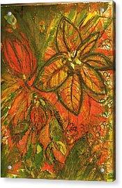 Wild And Wonderful With No Fear Acrylic Print by Anne-Elizabeth Whiteway