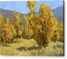 Acrylic Print featuring the painting Wild Autumn by David King