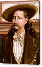Wild Bill Hickok Acrylic Print by Larry Lamb