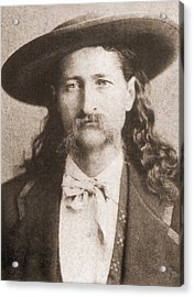 Wild Bill Hickok Was A Celebrated Acrylic Print by Everett