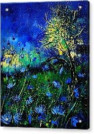 Wild Chocoree Acrylic Print by Pol Ledent