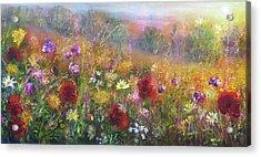 Wild Glory Acrylic Print by Ann Marie Bone