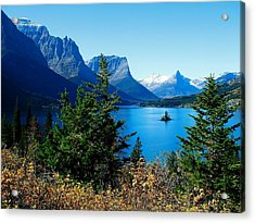 Wild Goose Island In The Fall Acrylic Print