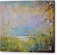 Wild Grasses Of Saugatuck Acrylic Print