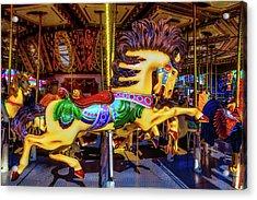 Wild Magical Horse Ride Acrylic Print
