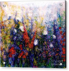 Wild Meadow Flowers Acrylic Print by Claire Bull