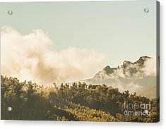 Wild Morning Peak Acrylic Print