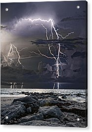 Wild Night Acrylic Print