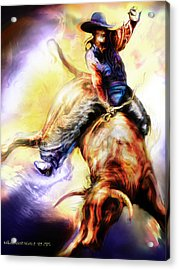 Wild Ride Acrylic Print