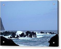 Wild Sea In Madeira Acrylic Print