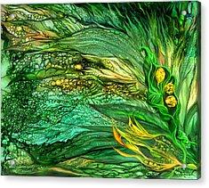 Wild Seeds Of Spring Acrylic Print by Carol Cavalaris