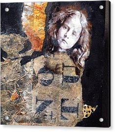 Wild Tangent Acrylic Print by Susan McCarrell