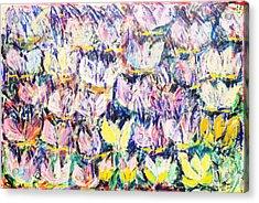 Wild Tulips Acrylic Print by Joan De Bot