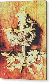 Wild West Saloon Dancer Still Life Acrylic Print