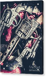 Wild West Weapons  Acrylic Print