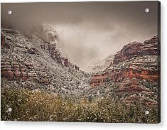 Boynton Canyon Arizona Acrylic Print by Racheal Christian
