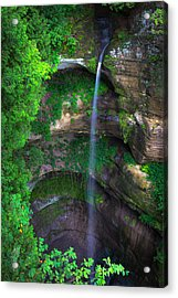 Wildcat Canyon Falls Acrylic Print