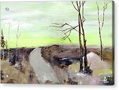 Acrylic Print featuring the painting Wilderness 2 by Anil Nene