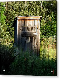 Wilderness Bathroom Acrylic Print